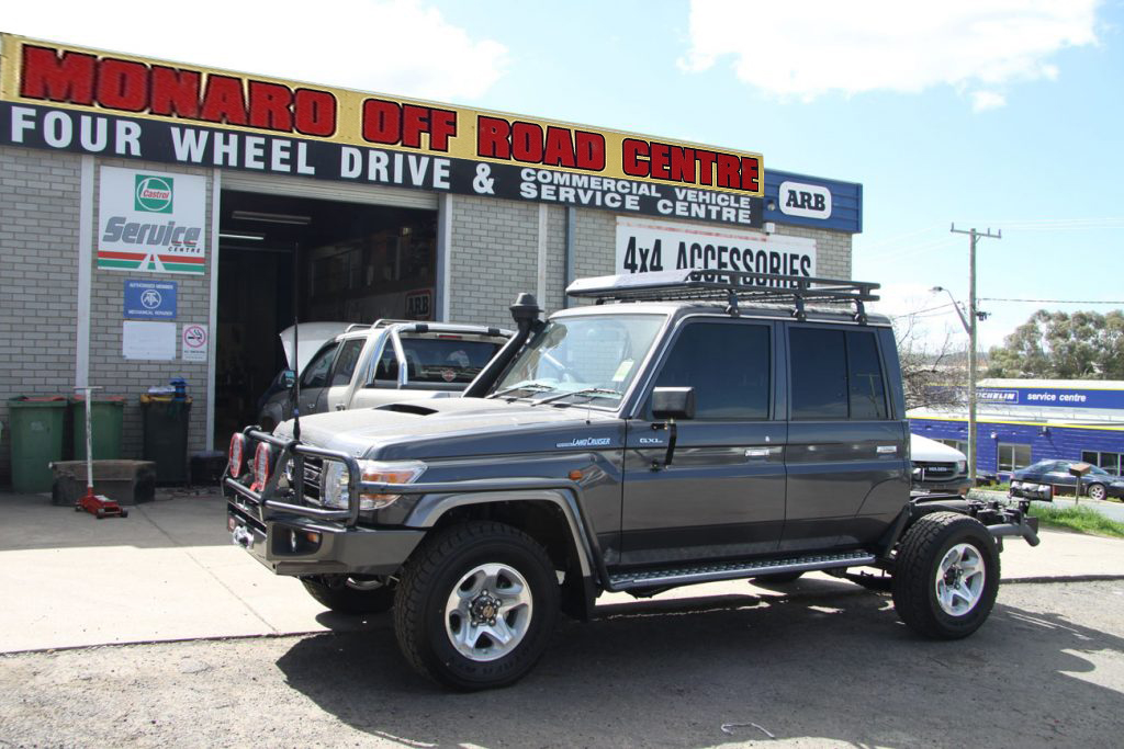 Photo of a Landcruiser 76 Series ARB Fit out Canberra & Queanbeyan