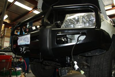 Photo of new ARB Bull Bar Installation Canberra